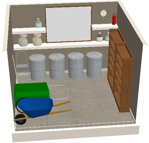 12x12 Feed Room Moxie Designs Tack Room Design