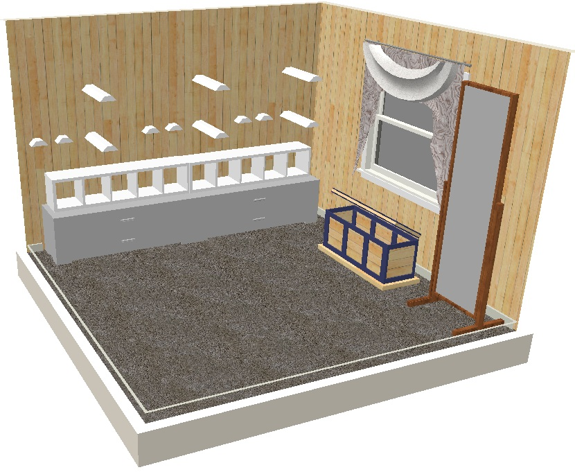 12x12 Tackroom Moxie Designs Tack Room Design